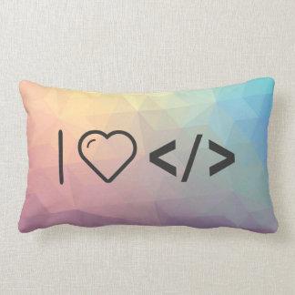 I HTML-Etiquetas del corazón Cojines