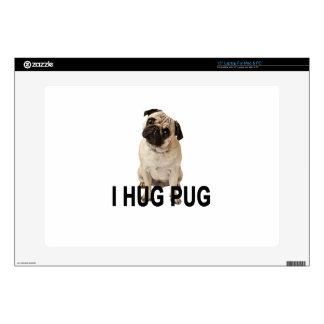 """I HUG PUG.png Skin For 15"""" Laptop"""