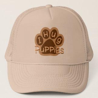 I Hug Puppies Trucker Hat