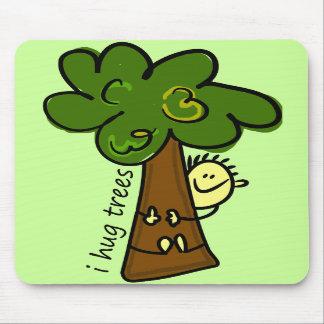I Hug Trees Mouse Pad