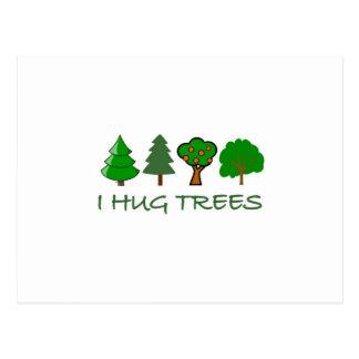 I Hug Trees Postcard