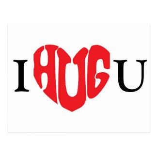 I Hug You Postcard