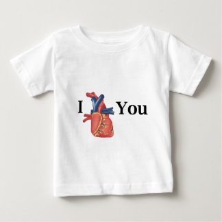 I (human) heart you baby T-Shirt
