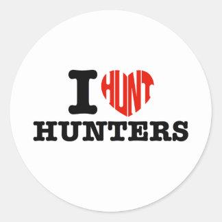 I HUNT HUNTERS STICKERS