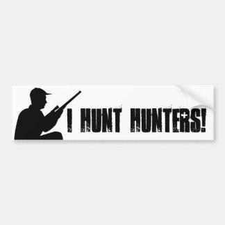 I hunt hunters sticker bumper stickers