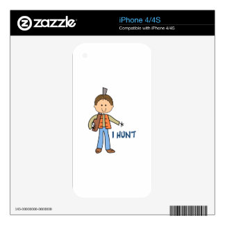 I HUNT DECALS FOR THE iPhone 4