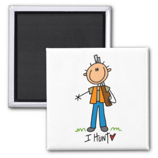 I Hunt Tshirts and Gifts Magnet