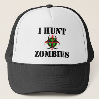 I HUNT ZOMBIES HAT (vr GN)