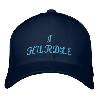 I Hurdle Embroidered Hat