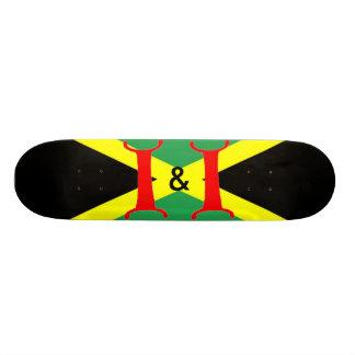 I & I Jamaican Skateboard