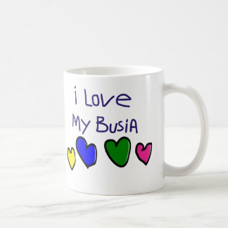 I I Love My Busia (Polish Grandma) Gift Coffee Mug