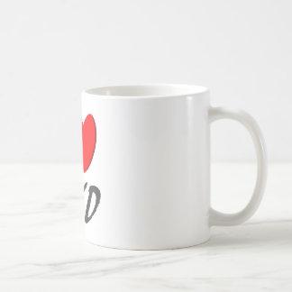 I I love TKD Coffee Mug