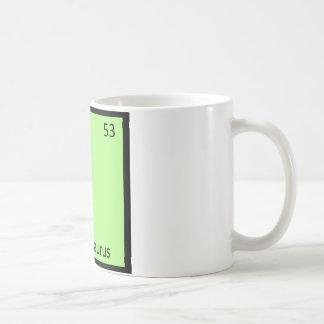 I - Ichthyosaurus Dinosaur Chemistry Symbol Coffee Mug