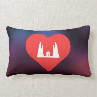 I icono de Bangkok del corazón Almohada