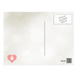 I icono inalámbrico del ratón del corazón tarjeta postal