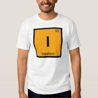 I - Idealism Philosophy Chemistry Periodic Table T Shirt