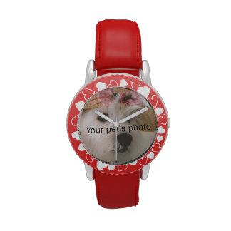 I imagen del mascota de Heart_My personalizada Relojes De Mano