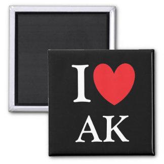 I imán de Alaska del corazón