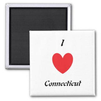I imán de Connecticut del corazón