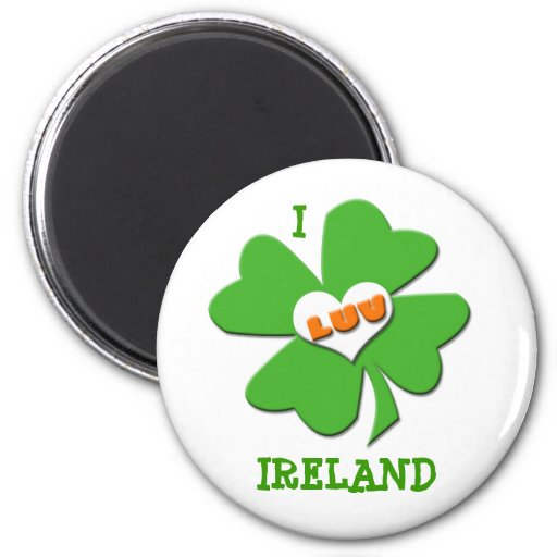 I imán de Luv Irlanda