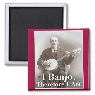 I imán del banjo