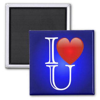 I imán del corazón U