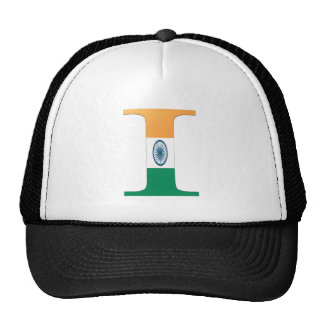 I (India) Monogram Trucker Hat