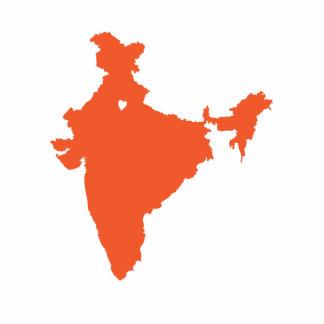 I ♥ India_sculpture magnet