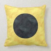 I India Watercolor Nautical Signal Maritime Flag Throw Pillow