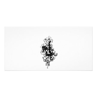I Initial from Gems of English Poetry Photo Card