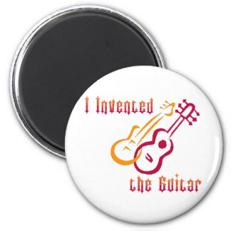 I Invented the Guitar Magnet