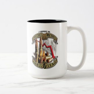 I Invest in Precious Metals - Brass and Lead Mug