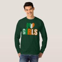 I ❤ Irish Girls by itbepoetry T-Shirt