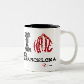I is Barcelona to you Two-Tone Coffee Mug