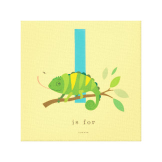 I is for... canvas print