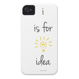 i is for idea iPhone 4 Case-Mate case