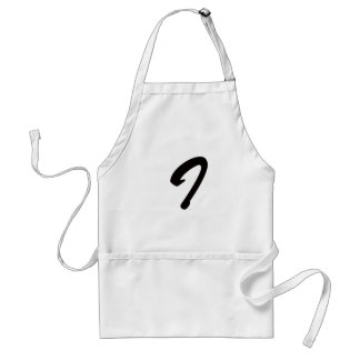 I is For Idiot! Adult Apron
