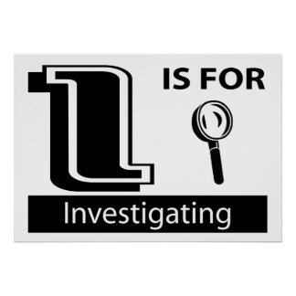 I Is For Investigating Poster