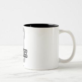 I is for Isiah Two-Tone Coffee Mug