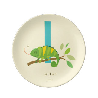 I is for... plate