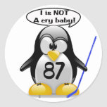 I is NOT a Cry Baby Classic Round Sticker