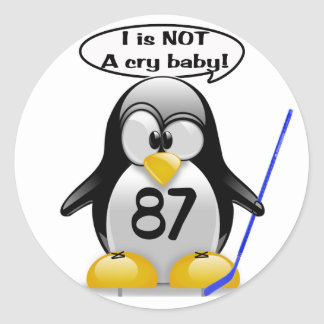I is NOT a Cry Baby Round Sticker