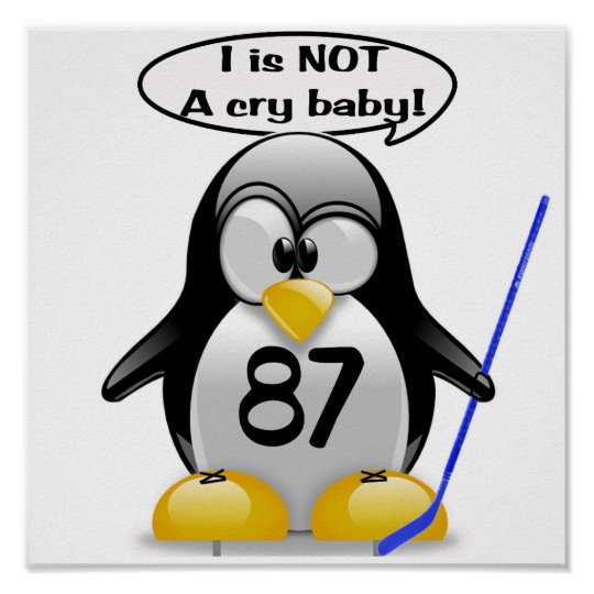 I is NOT a Crybaby Poster