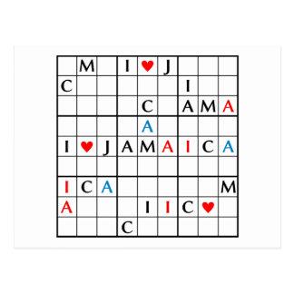 I♥JAMAICA POSTAL