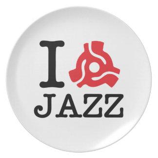 I jazz de 45 adaptadores platos de comidas
