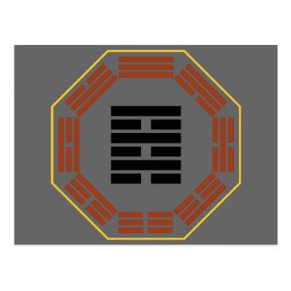 """I ji de Wei del Hexagram 64 de Ching """"antes de la  Tarjetas Postales"""