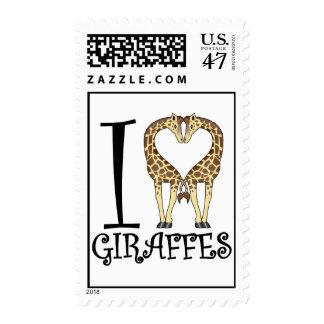 I jirafas del corazón sello