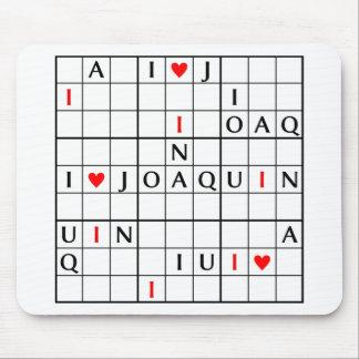 I♥JOAQUIN MOUSE PAD