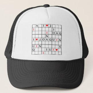 I♥JOAQUIN TRUCKER HAT