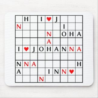 I♥JOHANNA MOUSE PAD
